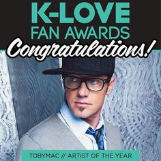 Yes!! Toby Mac !! Awesome witness, love his music!