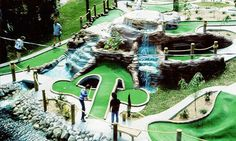 Golf Courses It's time to take to the tee and practice your swing for a game or two of miniature golf with the family. - Put your putters to the turf in 2018 at one of these miniature golf courses in Oakland, Macomb, Washtenaw and Wayne counties. Putt Putt Mini Golf, Adventure Mini Golf, Golf 6, Disc Golf, Miniature Golf, Best Golf Courses, Perfect Golf, Golf Lessons, Golf Humor