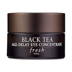 FRESH Black Tea Age-Delay Eye Concentrate An innovative daily eye concentrate that diminishes the appearance of aging, dark circles, and puffiness. I no longer have the box and this has been tested! However, it's still full of product and was purchased from Sephora only two weeks ago! Product has fabulous reviews and can be used on the following skin types: ✔ Normal ✔ Oily ✔ Combination ✔ Dry ✔ Sensitive Fresh Other