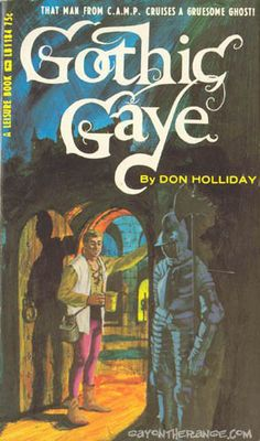 Gothic gaye (1966) / Don Holliday + Leisure Book LB1184 | Gay On The Range [http://www.gayontherange.com/] | #gayerio