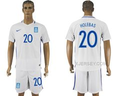 http://www.xjersey.com/201617-greece-20-holebas-home-soccer-jersey.html 2016-17 GREECE 20 HOLEBAS HOME SOCCER JERSEY Only $35.00 , Free Shipping!