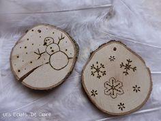 Claire dans tous ses éclats... : [DIY] Décorer son sapin de Noël avec juste une branche, un bout de bois.