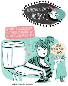 Viñetas divertidas sobre el embarazo - Esther Gili