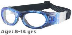 2a77568d74c  8-14 yrs  M2P Sports Goggles MP046 Blue   Black (Prescription Rx Lenses  Available)