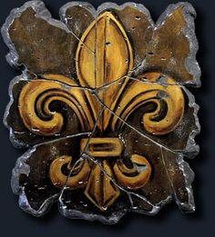 Fleur De Lis is the symbol of NOLA home of Mardi Gras!