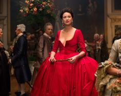 I studied red dresses of the 1940s and found my inspiration there. They're simple and they let the red itself be the decoration as opposed to piling on a ton of lace and ribbons and bows.