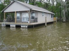 how to build a houseboat pontoon - Google Search