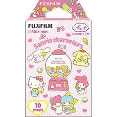 Fujifilm Instax Mini Film (Sanrio Characters) Sheets per Pack) Polaroid Instax Mini, Fujifilm Instax Mini, Fuji Instax Mini 8, Fujifilm Instant Camera, Instax Mini Film, Shabby Chic Painting, Sanrio Characters, Saved Items, Mini Me