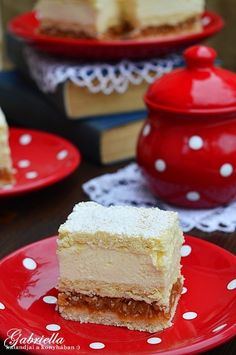 Almás krémes Vanilla Cake, Cheesecake, Food And Drink, Sweets, Baking, Recipes, Gummi Candy, Cheesecakes, Candy