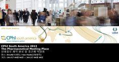 CPhI South America 2013 The Pharmaceutical Meeting Place 상파울로 제약 원료 및 중간체 박람회