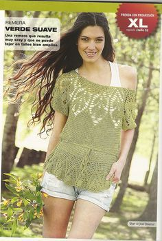 Crochet Top with the Full Pattern