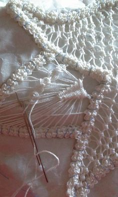Needlepoint Stitches, Embroidery Stitches, Hand Embroidery, Needlework, Irish Crochet, Knit Crochet, Romanian Lace, Dorset Buttons, Point Lace