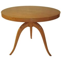 Sycamore Round Coffee Table | From a unique collection of antique and modern coffee and cocktail tables at http://www.1stdibs.com/furniture/tables/coffee-tables-cocktail-tables/