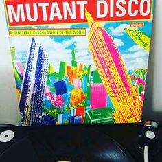 Defo my top 5 compilations. Mutant Disco - A Subtitle Discolation of the Norm: Ze Records Disco Funk, Post Punk, Vinyl Records, Wave, Music, Top, Collection, Instagram, Musica