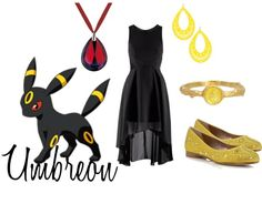 """Umbreon"" by shadowphoenix on Polyvore"