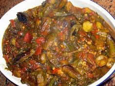 Okra bamieh middle eastern food yummy food pinterest middle lebanese recipes middle eastern vegetarian food recipes forumfinder Choice Image