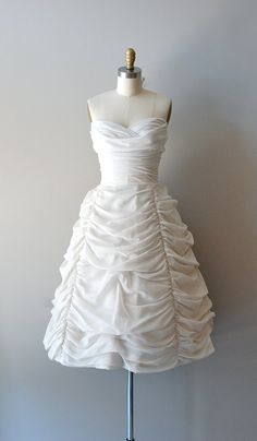 1950s Cloudveil dress, $585    https://www.etsy.com/listing/101520543/1950s-wedding-dress-50s-dress-wedding