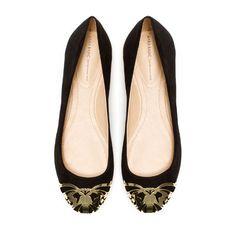 BAILARINA PUNTA METAL - Zapatos - Mujer - ZARA Estados Unidos de América
