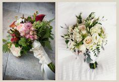 Encaje y cintas para atar el ramo | Preparar tu boda es facilisimo.com