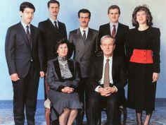 Al Assad family - Hafez al-Assad - Wikipedia Hafez Al Assad, Current President, Former President, Bashar Assad, Rich Family, World 2020, Back Row, Iraq War, Syria