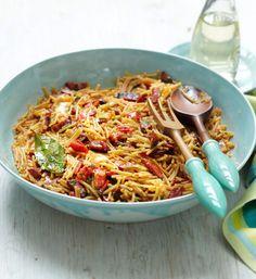 Rezept für Nudel-Paella mit Chorizo bei Essen und Trinken. Und weitere Rezepte in den Kategorien Geflügel, Gemüse, Kräuter, Nudeln / Pasta, Schwein, Alkohol, Hauptspeise, Braten, Kochen, Spanisch, Einfach, Raffiniert.