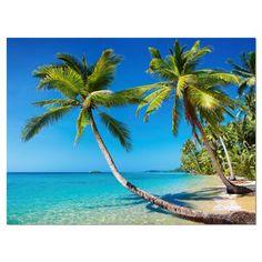 Shower Curtain Tropical Island and Palm Trees Ocean Decor 70 Inches Long 8681273190258 Tropical Beaches, Florida Beaches, Destin Florida, Beach Pink, Photo Portrait, Palmiers, Island Beach, Beach Scenes, Bora Bora