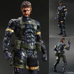 AmiAmi [Character & Hobby Shop] | Play Arts Kai - Metal Gear Solid 5 Ground Zeroes: Snake(Preorder)