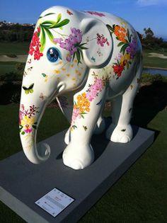 Maa Lii by Chris Chun at Elephant Parade Dana Point 2014