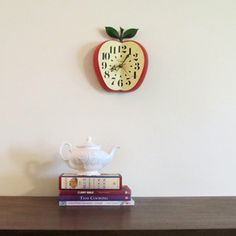 1950s Kitchen Clock now featured on Fab.