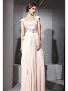 Pink Square Special Occasion Prom Formal Ball Long Evening Dress - Merpher.L
