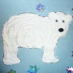 Mom to 2 Posh Lil Divas: Polar Bear, Polar Bear - More Fun with Bears! : Mom to 2 Posh Lil Divas: Polar Bear, Polar Bear - More Fun with Bears! Fun Winter Activities, Winter Crafts For Kids, Winter Kids, Winter Art, Winter Theme, Art Activities, Classroom Activities, Bear Crafts, Animal Crafts