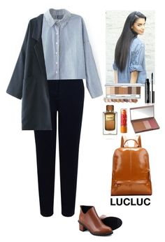 """""""Outfit LUCLUC"""" by eliza-redkina ❤ liked on Polyvore featuring John Lewis, Urban Decay, Maybelline, Dolce&Gabbana, StreetStyle, outfit, like, look and lucluc"""