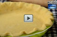 This Pie Crust recipe produces a deliciously rich and buttery flavored pastry with a crisp and flaky texture. From Joyofbaking.com With Demo Video