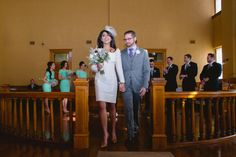 """Beautiful example of simple and funny """"I do"""" vows read by officiant."""
