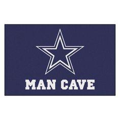 Dallas Cowboys Man Cave Area Rug