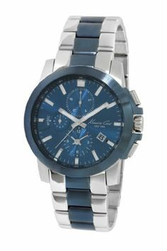 Kenneth Cole New York Men's KC9159 Dress Sport Blue Dial Watch Kenneth Cole. $110.24. Save 51% Off!