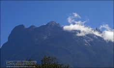 Clouds begin to blanket the summit in the late morning. Mount Kinabalu, Sea Level, Borneo, Natural World, Mount Everest, Exotic, Tropical, Clouds, Mountains