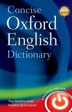 Concise Oxford English Dictionary, Black