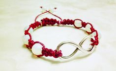 Hey, I found this really awesome Etsy listing at https://www.etsy.com/listing/237323393/infinity-hemp-bracelet-with-magenta-hemp