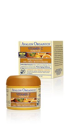 Avalon Organics® Vitamin C Renewal™ - Rejuvenating Oil-Free Moisturizer. Antioxidant-intensive lotion reinforces elasticity, firms appearance and provides Photo-Aging Defense.