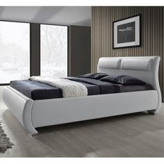 Decorate your room in a new style with murphy bed plans Bedroom Bed Design, Bedroom Furniture Design, Bed Furniture, Leather Platform Bed, Leather Bed Frame, Bed Designs With Storage, Modern Murphy Beds, Murphy Bed Plans, Upholstered Platform Bed