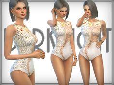 Embellished Bodice by DarkNighTt at TSR via Sims 4 Updates