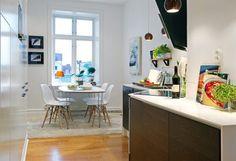 muebles de ikea encimera cocina de madera cocinas nórdicas cocinas ikea cocinas escandinavas cocinas diáfanas cocinas blancas cocinas abiertas cocina comerdor blanco