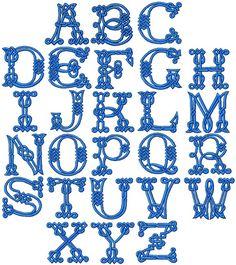 Advanced Embroidery Designs - Celtic Alphabet