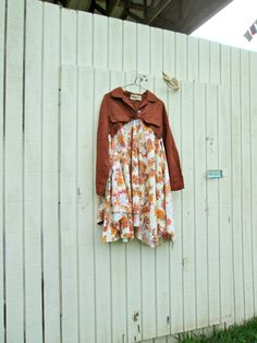 romantic Upcycled clothing / altered dress by CreoleSha, $94.99