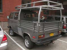 OLD PARKED CARS.: VW 4x4 #2 of 2: 1987 Volkswagen Transporter VR6 Syncro.
