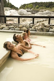 Mineral and Mud pools are legendary in Rotorua. (on the North Island of New Zealand.) I want to go lay in the magic mud!