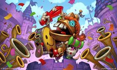 Sir Annoy-O hero skin for Hearthstone. Lunar New Year Greetings, Winter Veil, Hearthstone Heroes, The Hallow, Pogo Stick, Fire Festival, Pirate Day, Robot Art, Sign Printing