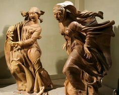 """Niccolò dell'Arca's (1463) """"Lamentation over the Dead Christ"""""""
