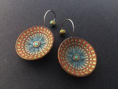 JH jewelry earrings Jh Logo, Etsy Earrings, Drop Earrings, Polymer Clay Animals, Dark Places, Clay Jewelry, Jewellery, Photo Jewelry, Clay Crafts